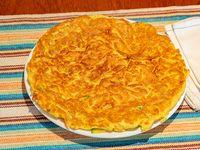 Omelette con verdura