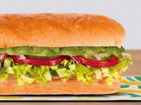Sándwich Vegetariano con Guacamole 15 cm