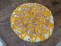 Pizzeta tradicional + 2 gustos
