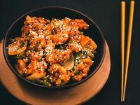 A la naranja y arroz