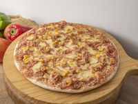 Pizza Especial Pollo BBQ Maíz