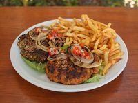 Promo hamburguesas Veganas