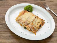 Lasaña de Berenjenas y Espinacas a la Parmesana