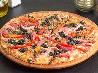 Pizza pequeña mafia siciliana