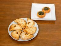 Combo promocional - 6 empanadas y 2 tartines de regalo