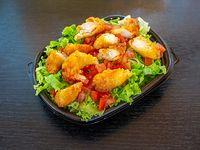 Salad sushi ebi finger