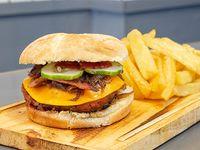 Burger Oslo con guarnición 200 g