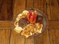 Ravioles con salsa de carne