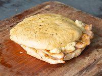 Sándwich de 1/4 de pollo con queso