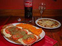Promo - ñoquis con salsa + milanesa napolitana con guarnición + 1 gaseosa grande