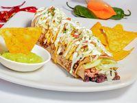 Burrito de Alambre de Cerdo