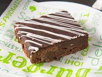 Brownie sin gluten certificado y vegano