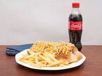 Combo Hot Dog 3 Quesos Tocineta