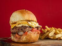 Burger Folding con papas