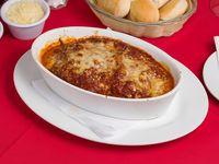 Lasagna de carne bolognesa (con glúten)