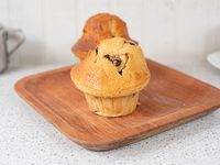 Muffin vainilla con chips de chocolate