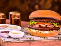 Hamburguesa Doble Carne Especial Express