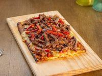 Pizza con carne al cuchillo 25 cm