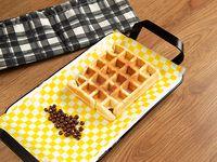 Waffle Gaufrini con Cereal de Chocolate