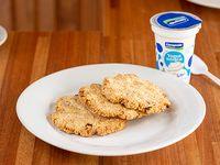 Promo - Galletas de avena y pasas + yogur integral sin azúcar