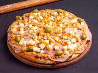 Pizza especial con palmitos