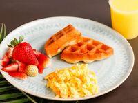 Desayuno con Waffles Pequeño