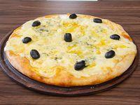 Pizzas cuatro quesos