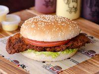 Hamburguesa Pollo Apanado