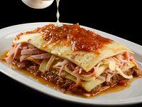Lasagna de carne, jamón y queso 550 g