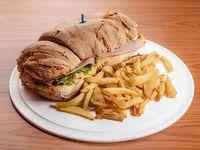 Torpedo de hamburguesa especial