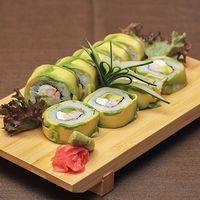 017 - Avocado camarón roll (9 piezas)