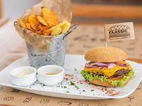 Burger Classic con guarnición
