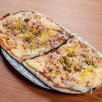 Pizza especial a la parrilla