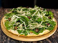 25 - Pizza con rúcula