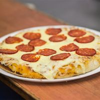 Pizzeta con muzzarella diabla