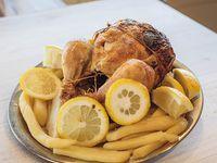 Promo pollo con guarnición