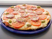 Pizza napo calabresa