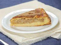 Torta de manzana y canela