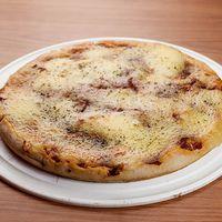 Pizza con muzzarella al molde