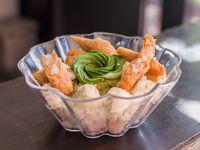 Shrimp sushi salad