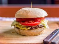 Sándiwch de hamburguesa