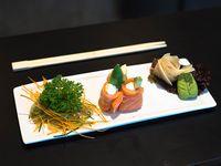 Geisha de salmón