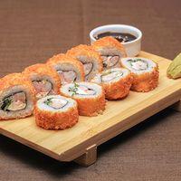 072 - Pollo ebi crispy roll (9 piezas)