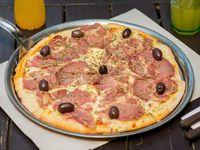 Pizza con bondiola