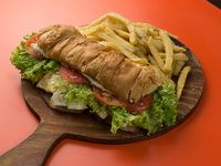 Promo 7 - Sándwich torpedo + papas fritas + bebida