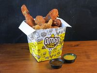 Bucket XL - Patitas (4 unidades) + alitas (8 unidades) + nuggets (12 unidades) + 2 salsas