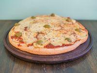 Pizza muzzarella  (8 porciones)