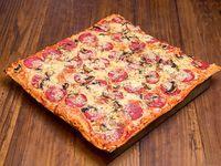 Promo - Armá tu pizza grande + bebida 1.5 L