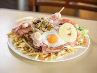 Chivito al plato especial San Martin para 2