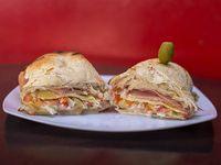 Sándwich tostado doble primavera